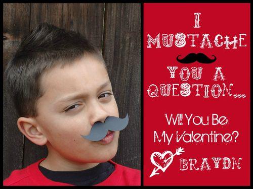 Braydn's 2012 Valentine Card